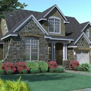 Whispering Valley Traditional Floor Plan Exterior