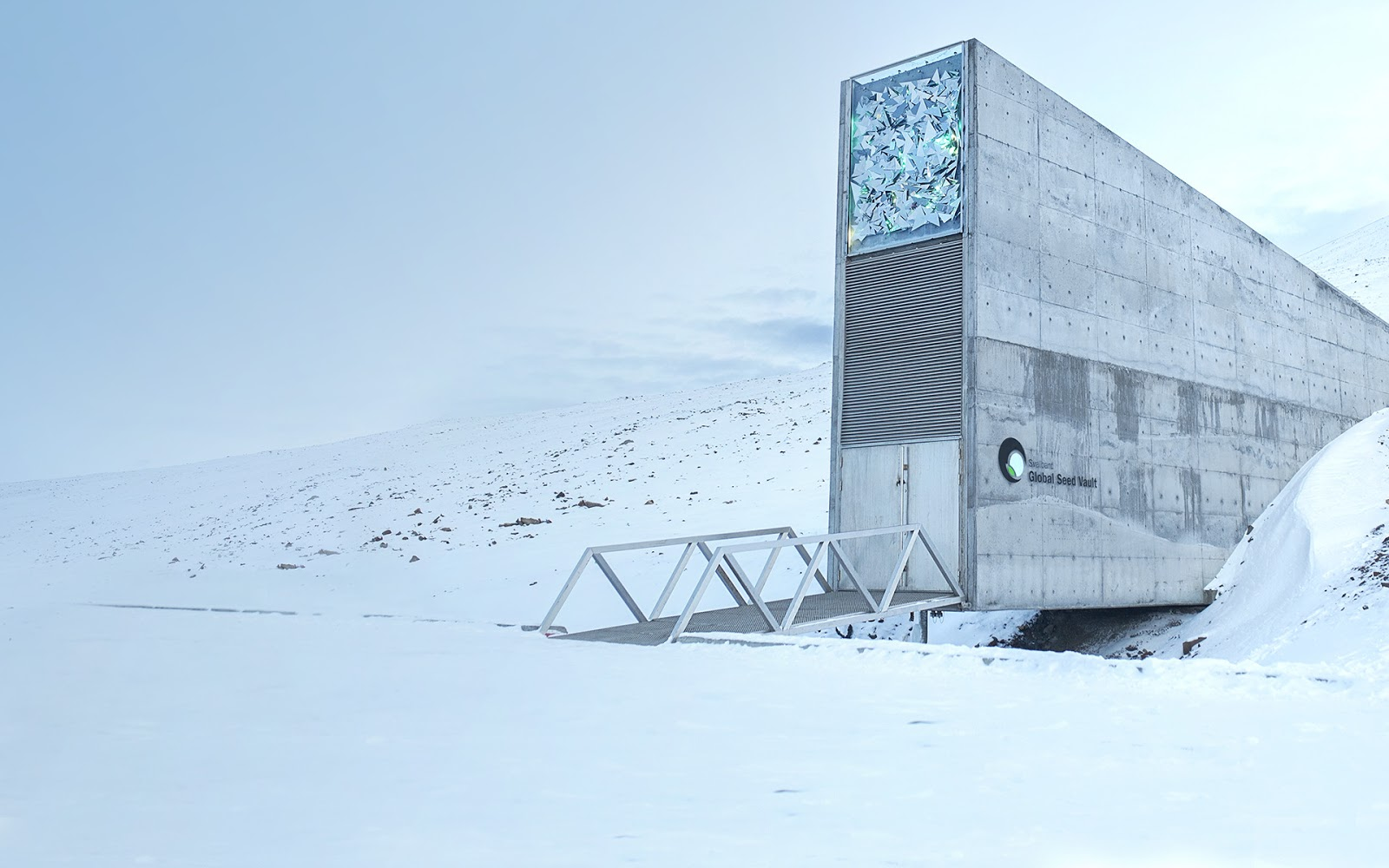 Architecture Around the World - Svalbard Global Seed Vault