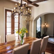 Pleasant Forest European Style Floor Plan Dining Room