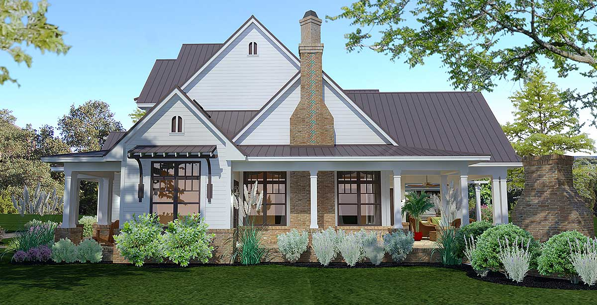 Crystal Falls Modern Farmhouse Floor Plan David E